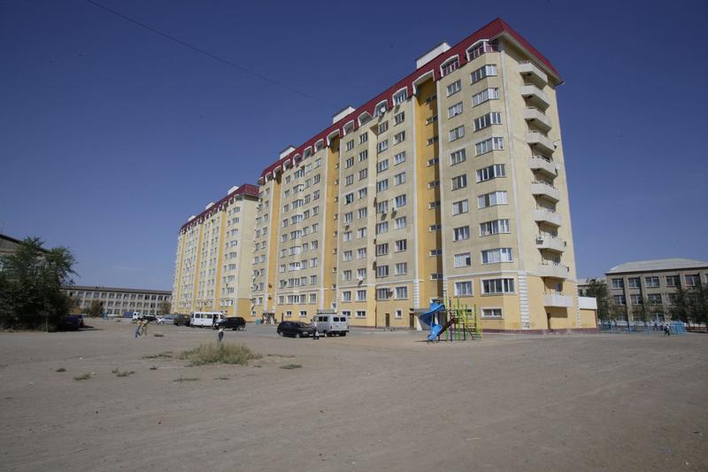 Kazakistan Atyrau Valilik Sosyal Konut 220 Dairelik Projesi